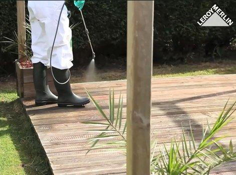 Comment Nettoyer Une Terrasse En Bois Leroy Merlin