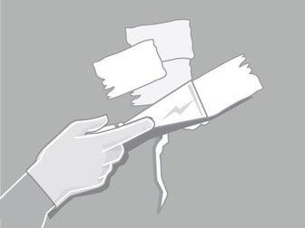 appliquez avec un couteau enduire un enduit de rebouchage sur les fissures ou sur les trous lissez lenduit pour viter toute surpaisseur puis - Comment Preparer Un Mur Pour Le Peindre