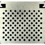 Grille métallique pour bac rouleau de 250 mm NESPOLI