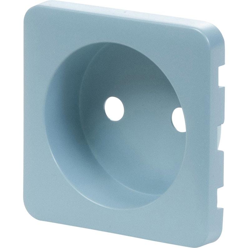 Cache Prise Sans Terre Cosy Lexman Bleu Baltique N3 Mat
