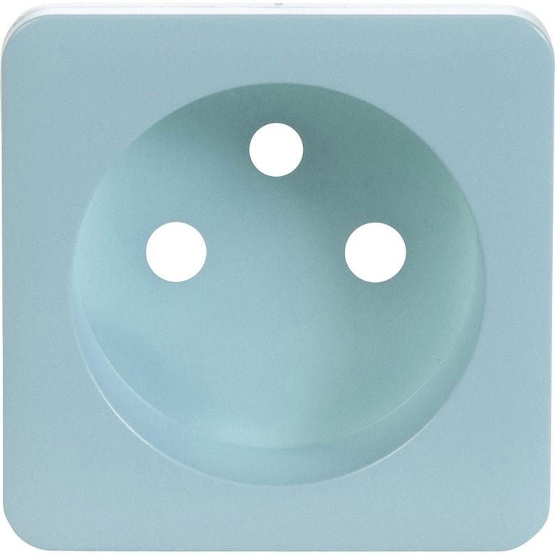 cache prise avec terre cosy lexman bleu baltique n 3 mat. Black Bedroom Furniture Sets. Home Design Ideas