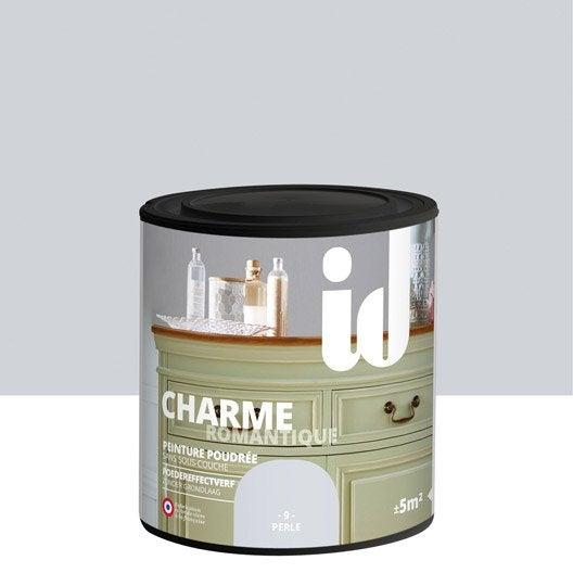 Peinture pour meuble, objet et porte, poudré, ID, Charme, perle 0.5 l