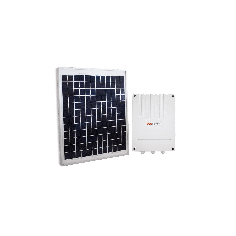 pack solaire pour motorisation de portail scs sentinel leroy merlin. Black Bedroom Furniture Sets. Home Design Ideas