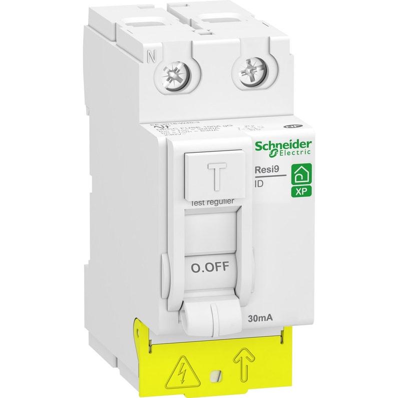 Interrupteur Différentiel Schneider Electric 30 Ma 40 A A