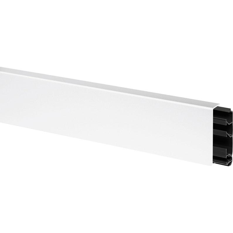 Plinthe Blanc H 8 X P 2 Cm Leroy Merlin