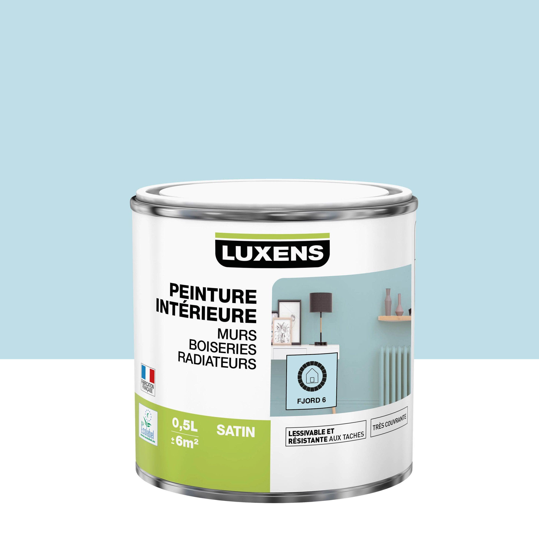 Peinture mur, boiserie, radiateur toutes pièces Multisupports LUXENS, fjord 6, s
