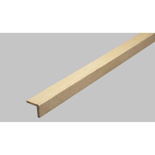 baguette d 39 angle en sapin long 250cm section leroy merlin. Black Bedroom Furniture Sets. Home Design Ideas