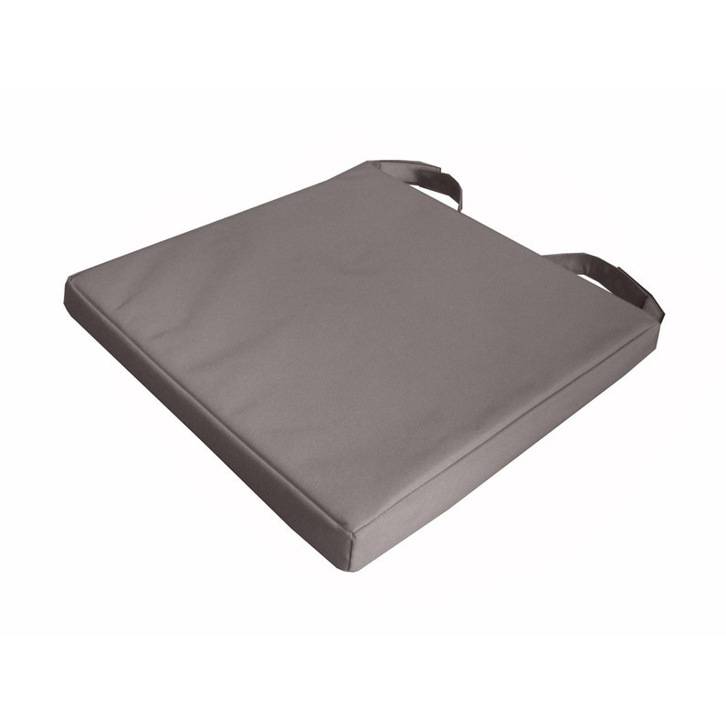 Galette De Chaise Impermeable Mona INSPIRE Taupe