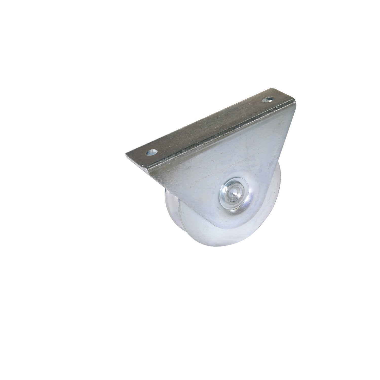 Roue Support Ext Rieur Acier Zingu H 85 X L 120 X P 36 Mm