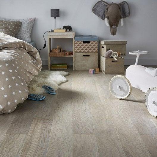 parquet contrecoll ch ne gris clair vitrifi l artens. Black Bedroom Furniture Sets. Home Design Ideas