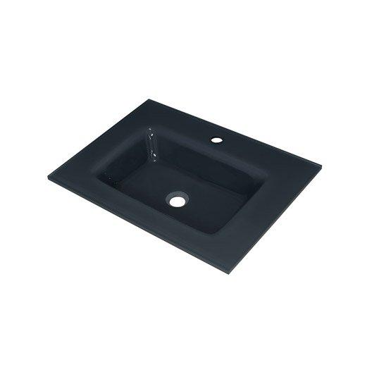 plan vasque storm verre tremp 61 cm leroy merlin. Black Bedroom Furniture Sets. Home Design Ideas