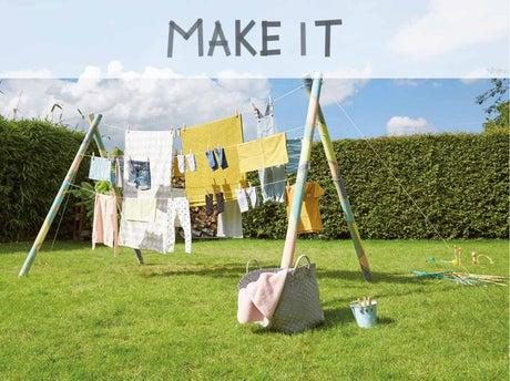 diy r aliser un tendoir tipi leroy merlin. Black Bedroom Furniture Sets. Home Design Ideas