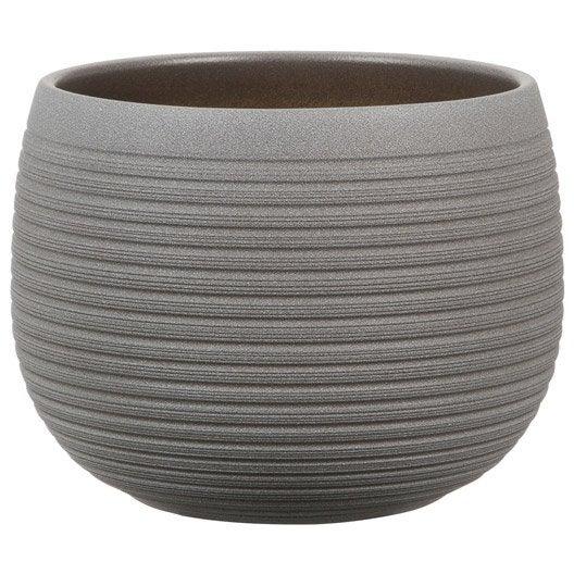 Cache pot plastique terre cuite au meilleur prix leroy merlin - Cache pot ceramique ...