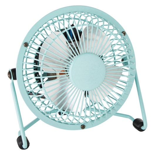 Mini Ventilateur De Bureau Lara Equation Bleu