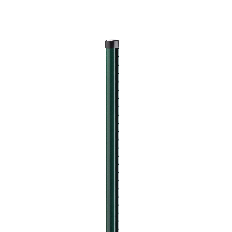 poteau acier galvanis rond univers vert x l 4 8 x. Black Bedroom Furniture Sets. Home Design Ideas