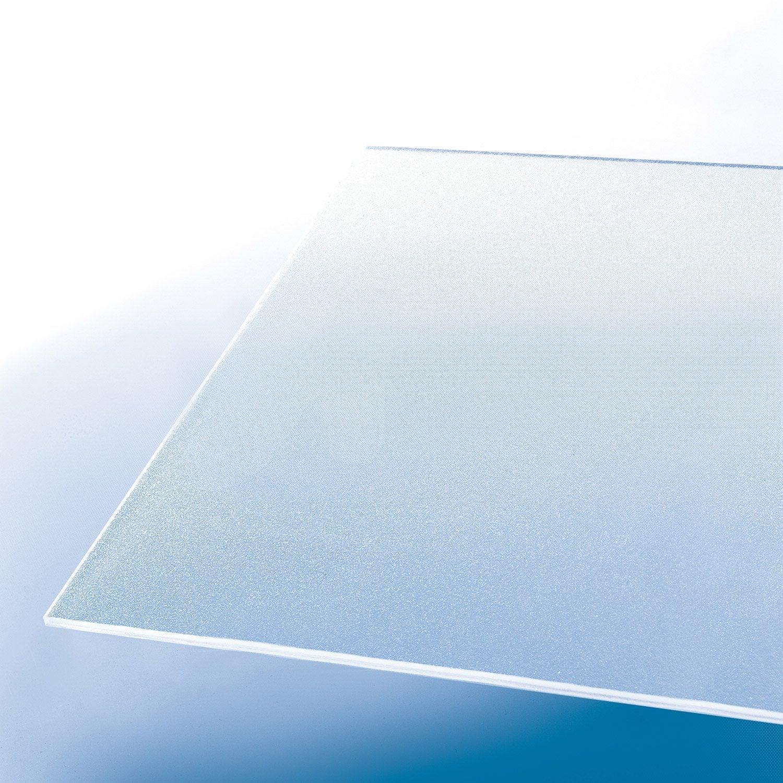 plaque polystyr ne blanc laiteux lisse x cm ep. Black Bedroom Furniture Sets. Home Design Ideas