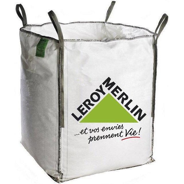 sac gravats big bag 1m3 leroy merlin. Black Bedroom Furniture Sets. Home Design Ideas