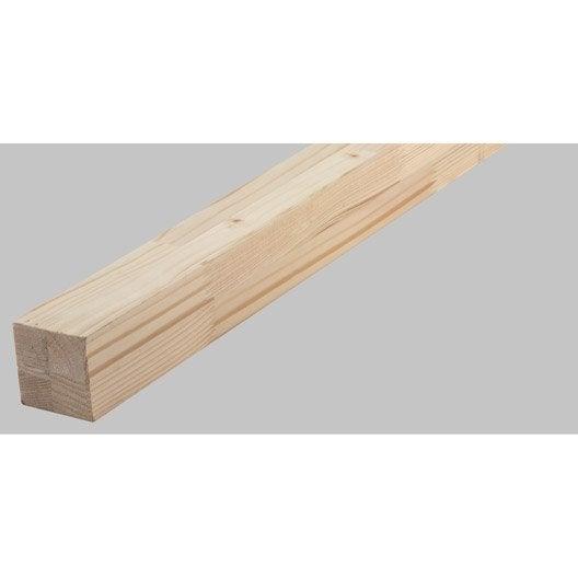 tasseau lamell coll sapin sans noeud rabot 45x45 mm long 270cm leroy merlin. Black Bedroom Furniture Sets. Home Design Ideas