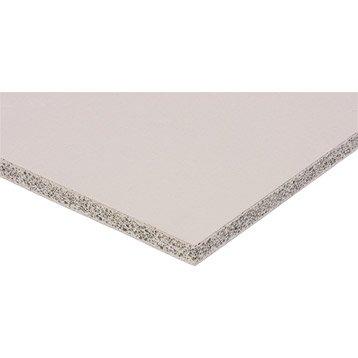 Plaque ciment FERMACELL Powerpanel H²O, H.1.2 x l.1m, Ep.1.25 cm