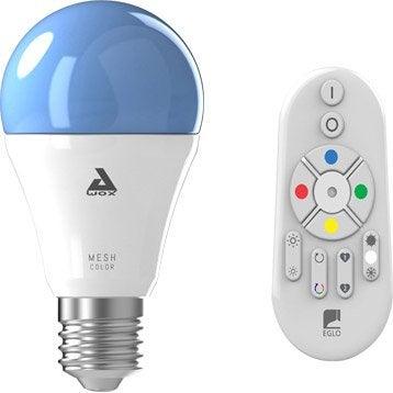 Ampoule connectée à changement de couleur + télécommande 806 Lm E27 EGLO Connect