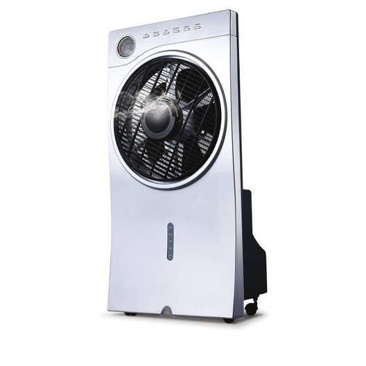 ventilateur brumisateur sur pied argo polifemo breeze d. Black Bedroom Furniture Sets. Home Design Ideas