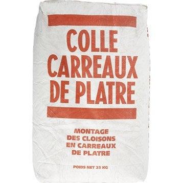 Colle pour carreaux de plâtre FACILIS, 25 kg