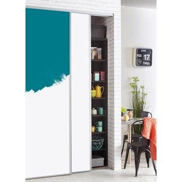 Porte de placard composer personnalisable et recoupable for Peindre des portes de placard