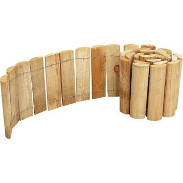Bordure de jardin bordure b ton bois pierre ardoise for Bordura leroy merlin