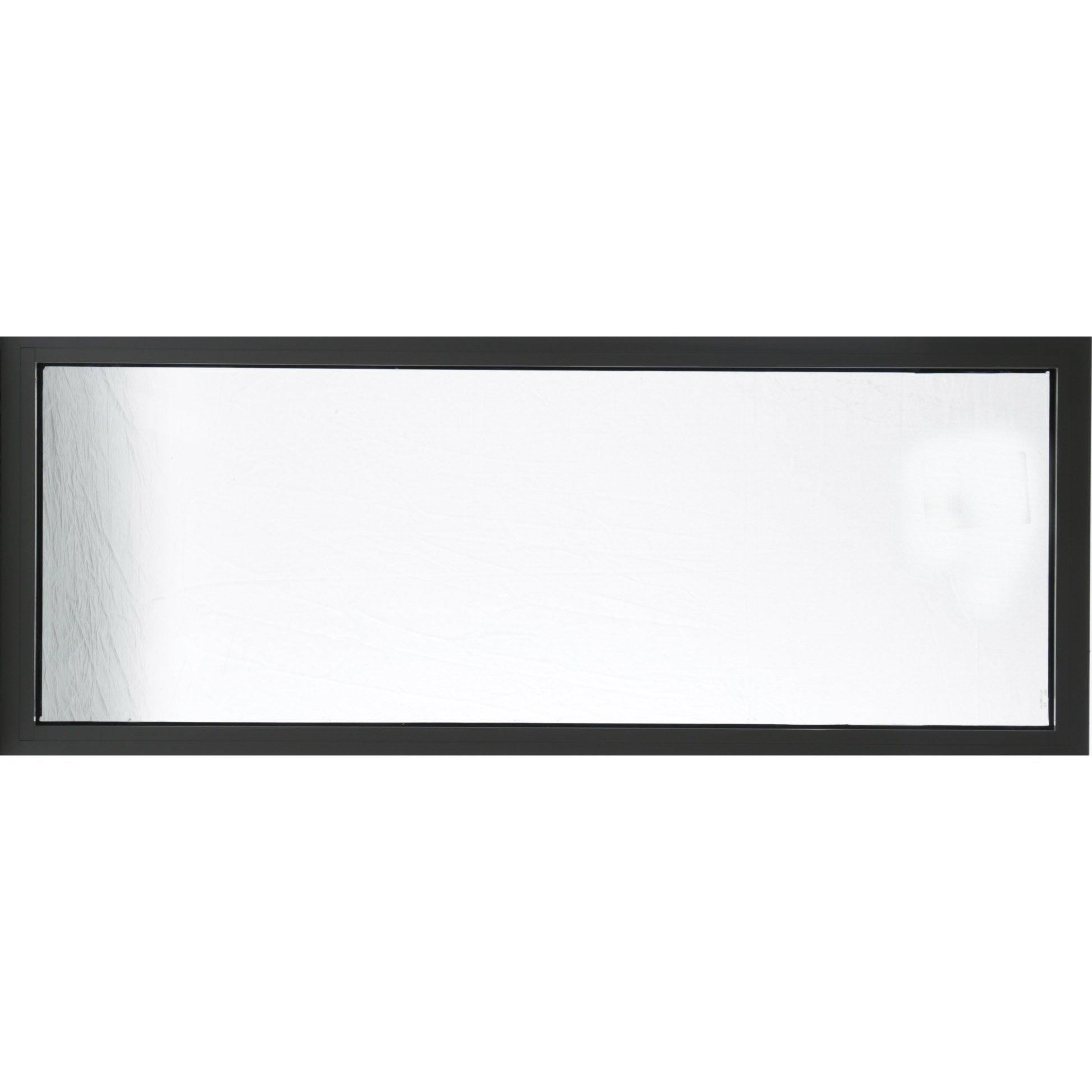 Fenêtre Aluminium H.60 x l.150 cm, / , 1 vantail fixe