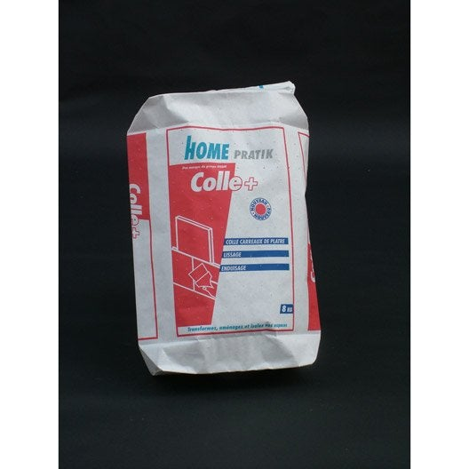 Colle pour carreaux de pl tre pm 3 home pratik 8 kg - Colle carreau de platre ...