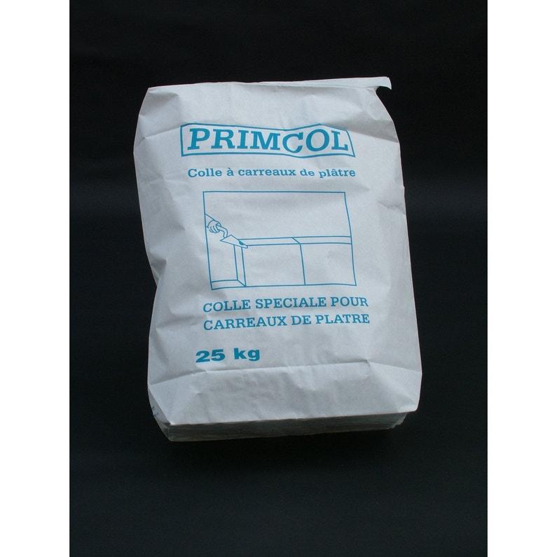 Colle Pour Carreaux De Plâtre Primcol Home Pratik 25 Kg