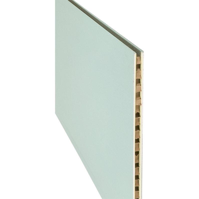 Cloison Alvéolaire Ba 50 H250 X L120 Cm Hydrofuge Nf Knauf