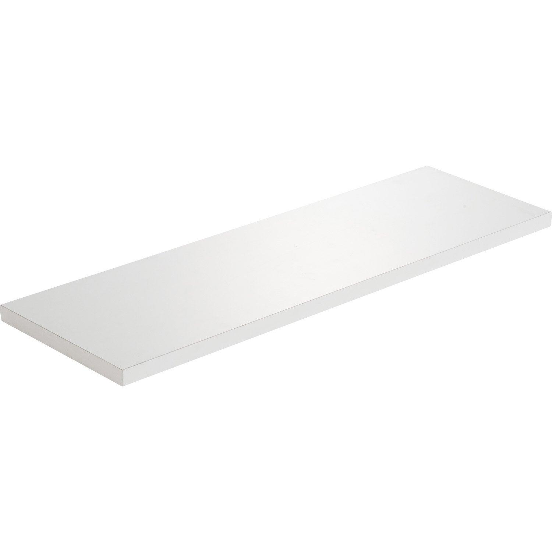 etag re murale blanc x cm mm leroy merlin. Black Bedroom Furniture Sets. Home Design Ideas