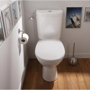wc poser wc abattant et lave mains toilette au meilleur prix leroy merlin. Black Bedroom Furniture Sets. Home Design Ideas