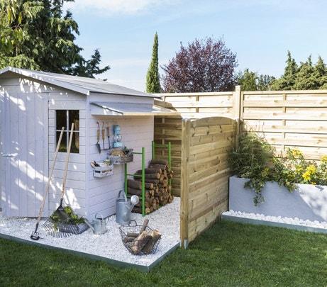 Un abri de jardin pour tout ranger