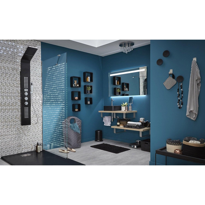 miroir avec clairage int gr cm island leroy merlin. Black Bedroom Furniture Sets. Home Design Ideas