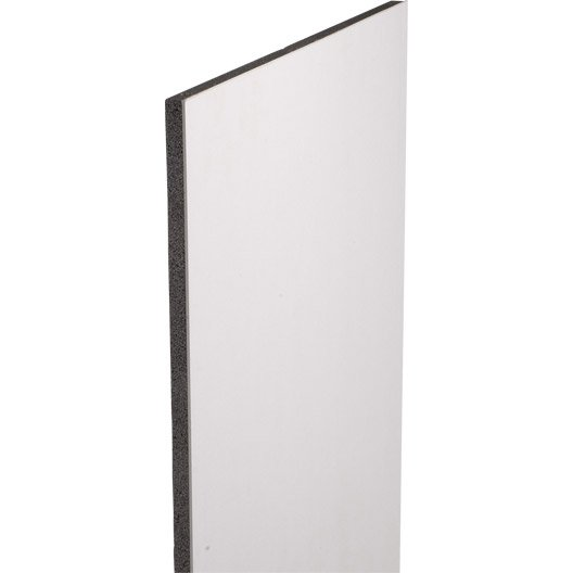 doublage en polystyr ne expans th 32 siniat 2 5 x ep 13 100mm r leroy merlin. Black Bedroom Furniture Sets. Home Design Ideas