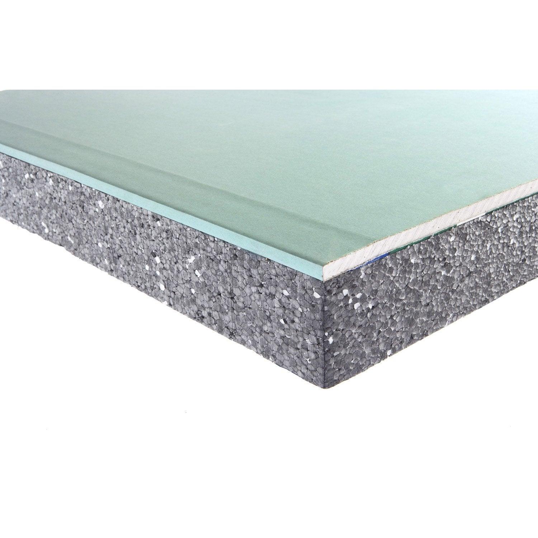 doublage en polystyr ne expans th32 hydro siniat ep 13 40mm r leroy merlin. Black Bedroom Furniture Sets. Home Design Ideas
