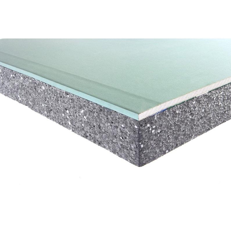 doublage en polystyr ne expans th32 hydro siniat. Black Bedroom Furniture Sets. Home Design Ideas