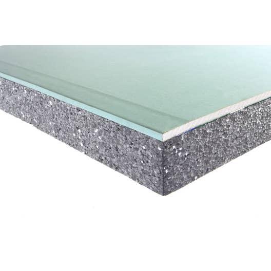 Plaque De Platre Ba10 en ce qui concerne doublage en polystyrène expansé, th32 hydro, siniat 2.5x1.2m ep. 13+
