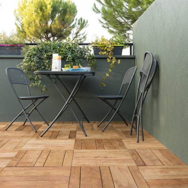une terrasse au beau milieu du jardin leroy merlin. Black Bedroom Furniture Sets. Home Design Ideas