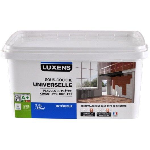 sous couche peinture sous couche universelle plaque de pl tre bois au meilleur prix leroy. Black Bedroom Furniture Sets. Home Design Ideas