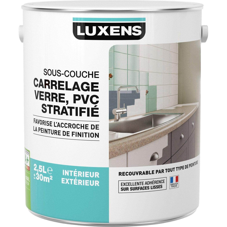 Sous Couche Carrelage / Stratifié / Pvc / Aluminium / Galva LUXENS 2.5 L ...