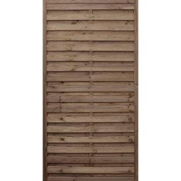 Panneau, Barrière, Palissade, claustra, panneau bois, clôture bois ...