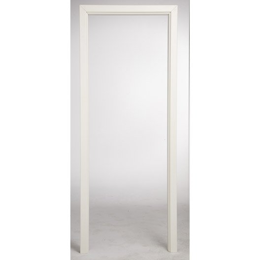 B ti ajustable pour porte fin de chantier home ou naples for Porte en verre interieur leroy merlin