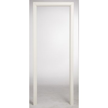 Bâti ajustable pour porte fin de chantier home ou naples 73 cm, poussant droit