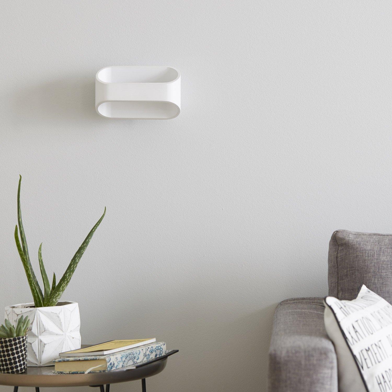 Applique design led int gr e koper m tal blanc 1 inspire for Koper design