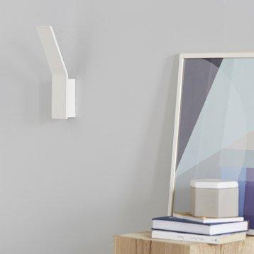 Applique, led intégrée Pic, 1 x 8 W, métal blanc, INSPIRE