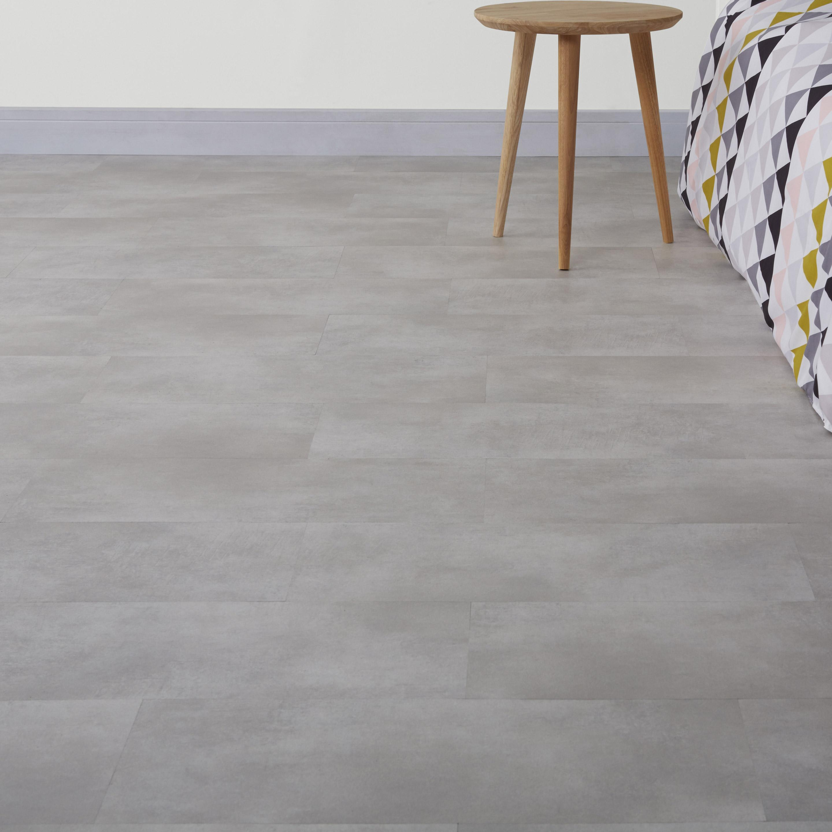 Dalle PVC clipsable gris clair ARTENS City