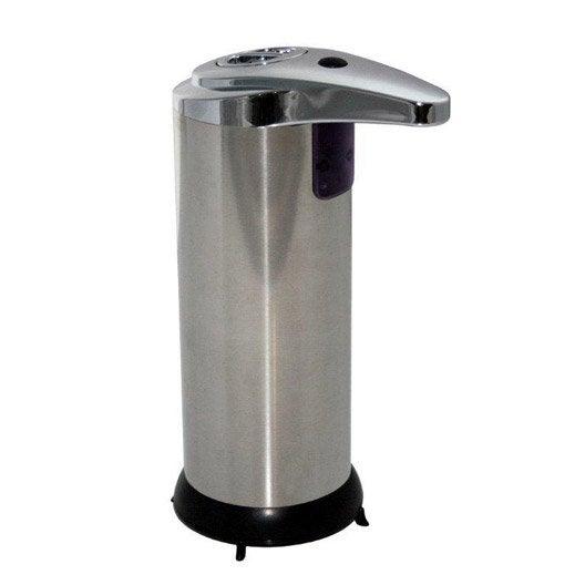 Distributeur de savon inox chromé automatique